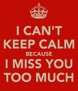 i miss you for a girl