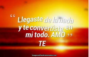 Imagenes con frases lindas amor
